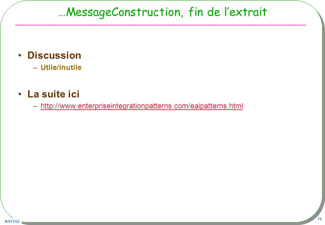 …MessageConstruction, fin de l'extrait