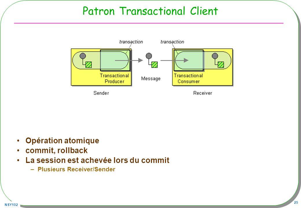 Patron Transactional Client