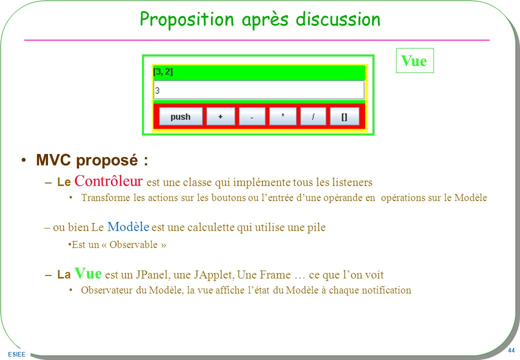 Proposition après discussion