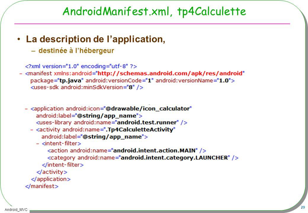 AndroidManifest.xml, tp4Calculette