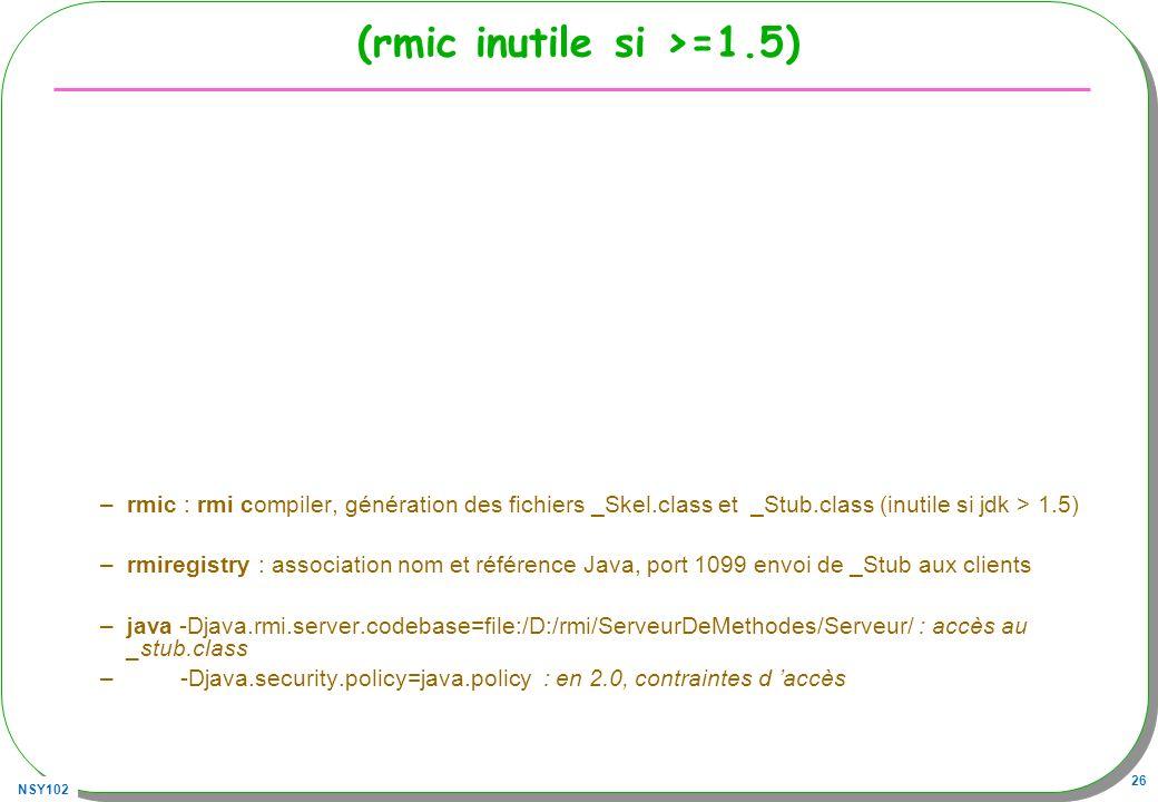 (rmic inutile si >=1.5)