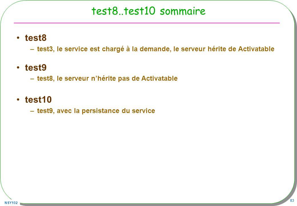 test8..test10 sommaire test8 test9 test10