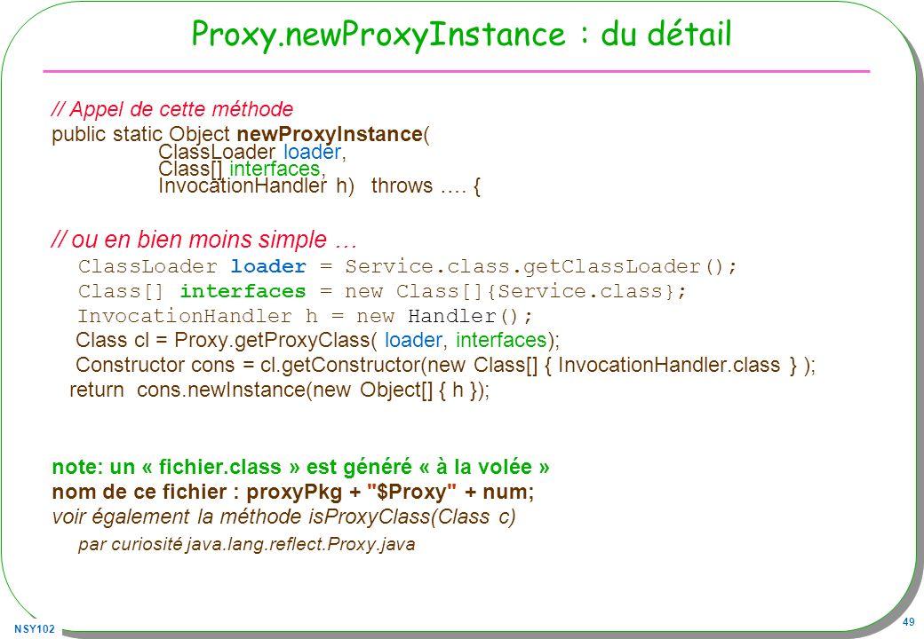 Proxy.newProxyInstance : du détail
