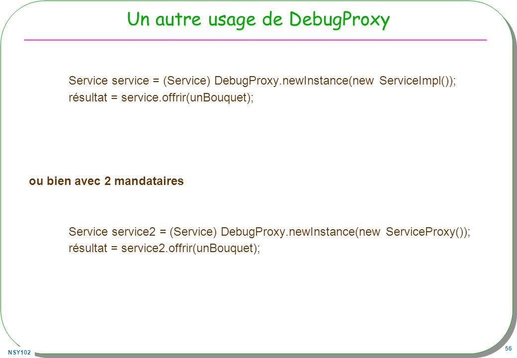 Un autre usage de DebugProxy