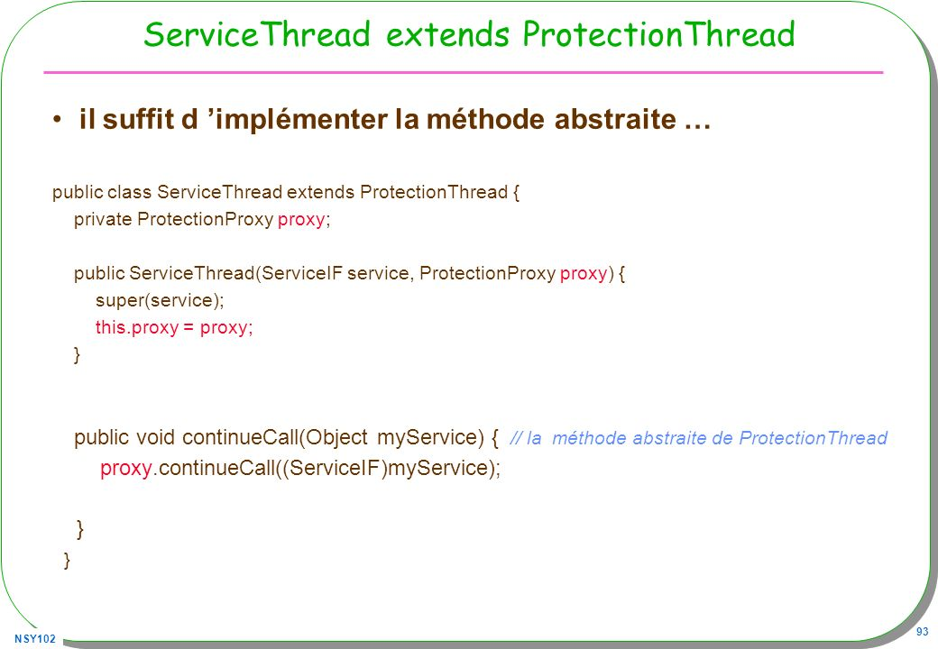 ServiceThread extends ProtectionThread