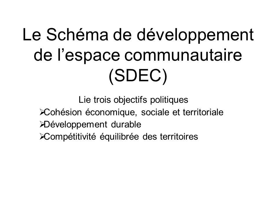 Le Schéma de développement de l'espace communautaire (SDEC)