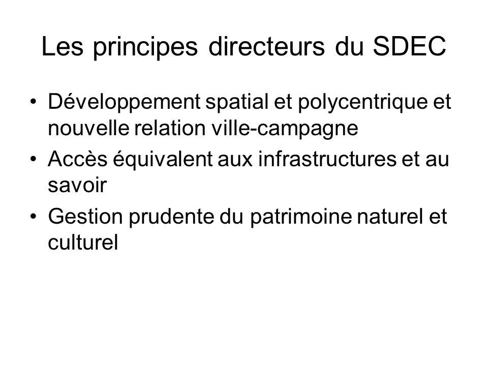 Les principes directeurs du SDEC
