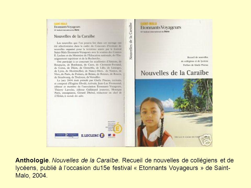 Anthologie. Nouvelles de la Caraïbe