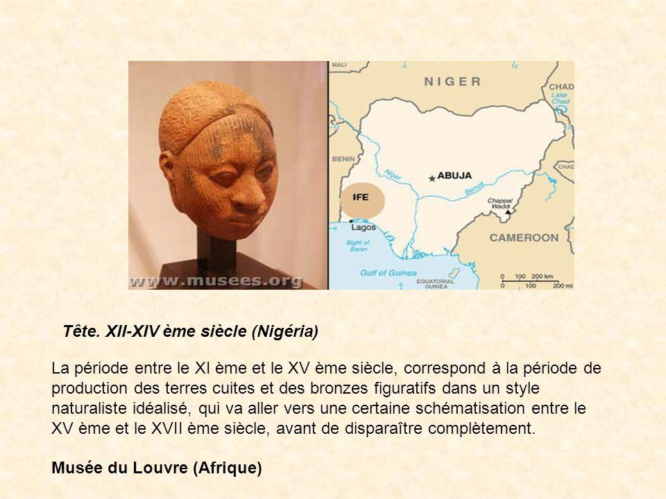 Tête. XII-XIV ème siècle (Nigéria)