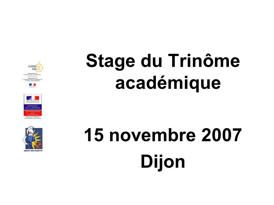 Stage du Trinôme académique