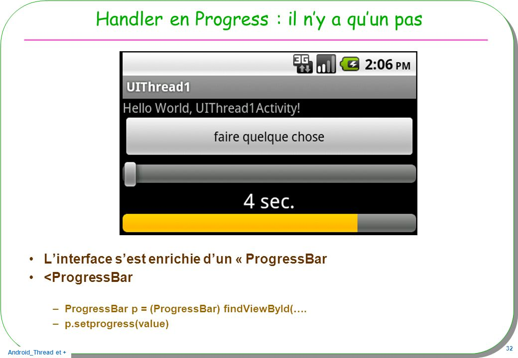 Handler en Progress : il n'y a qu'un pas