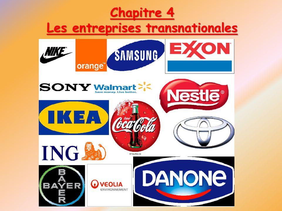 Les entreprises transnationales
