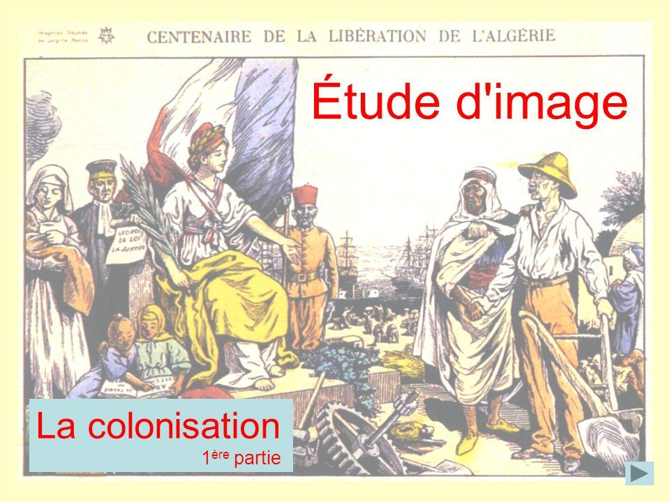 Étude d image La colonisation 1ère partie