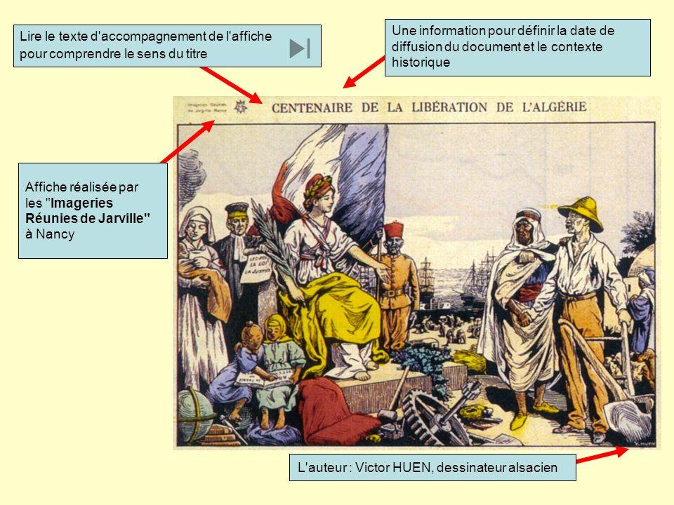 Une information pour définir la date de diffusion du document et le contexte historique