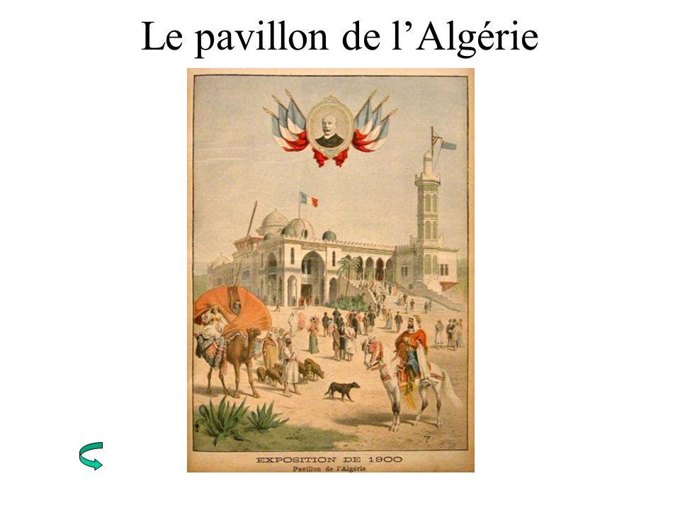 Le pavillon de l'Algérie