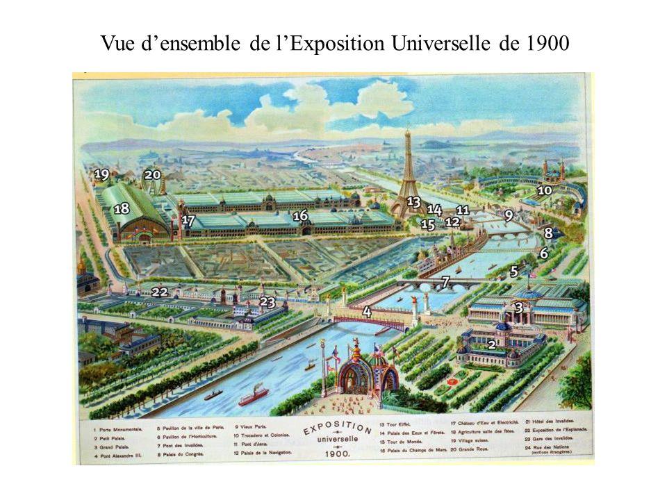 Vue d'ensemble de l'Exposition Universelle de 1900