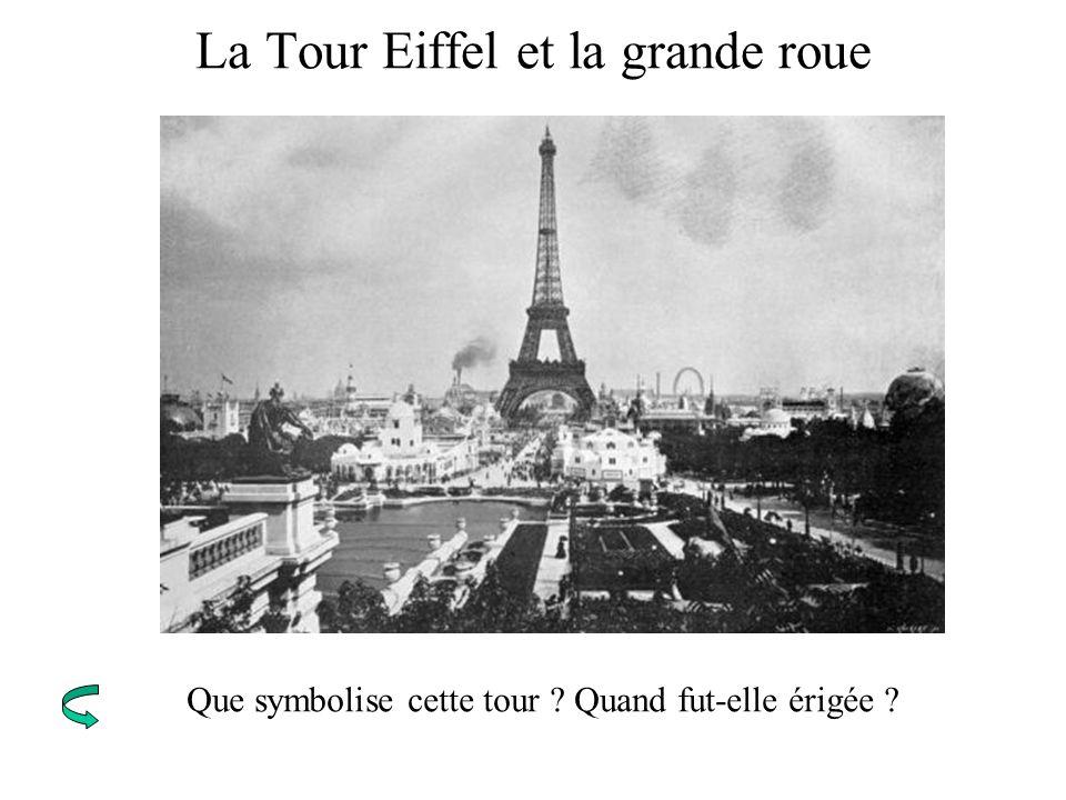 La Tour Eiffel et la grande roue
