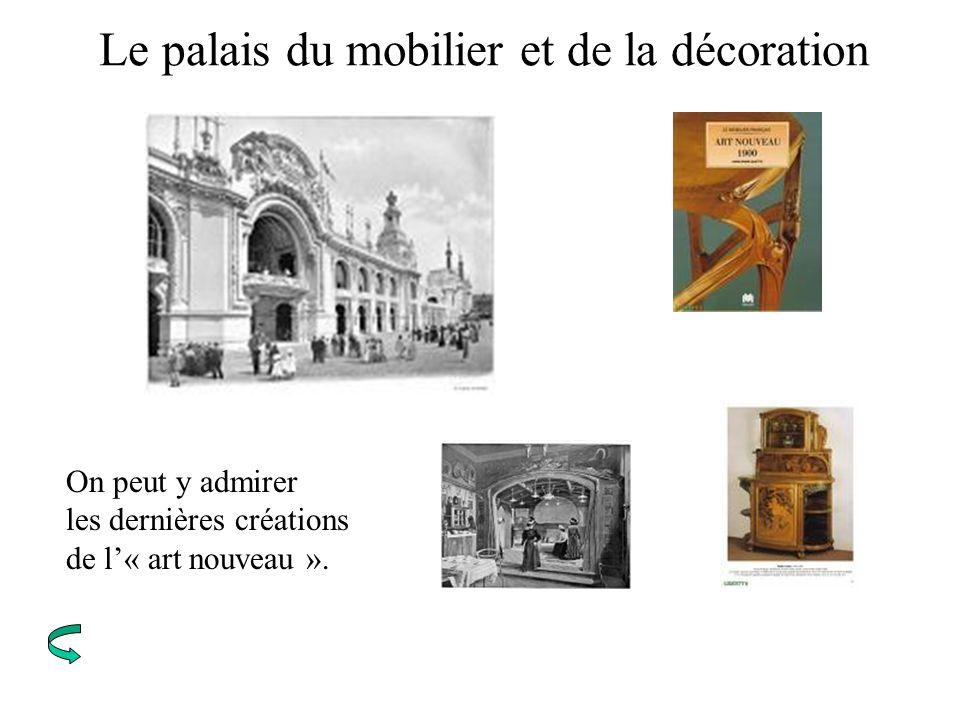 Le palais du mobilier et de la décoration