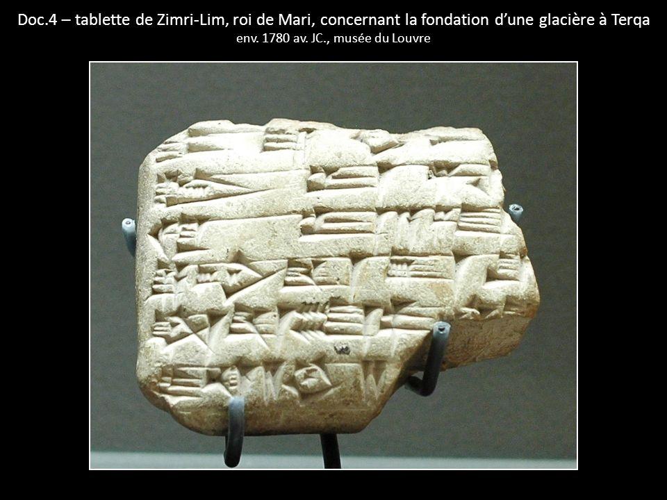 env. 1780 av. JC., musée du Louvre