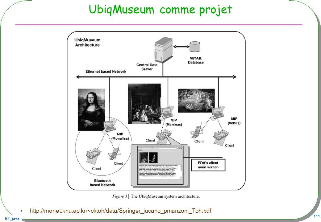 UbiqMuseum comme projet