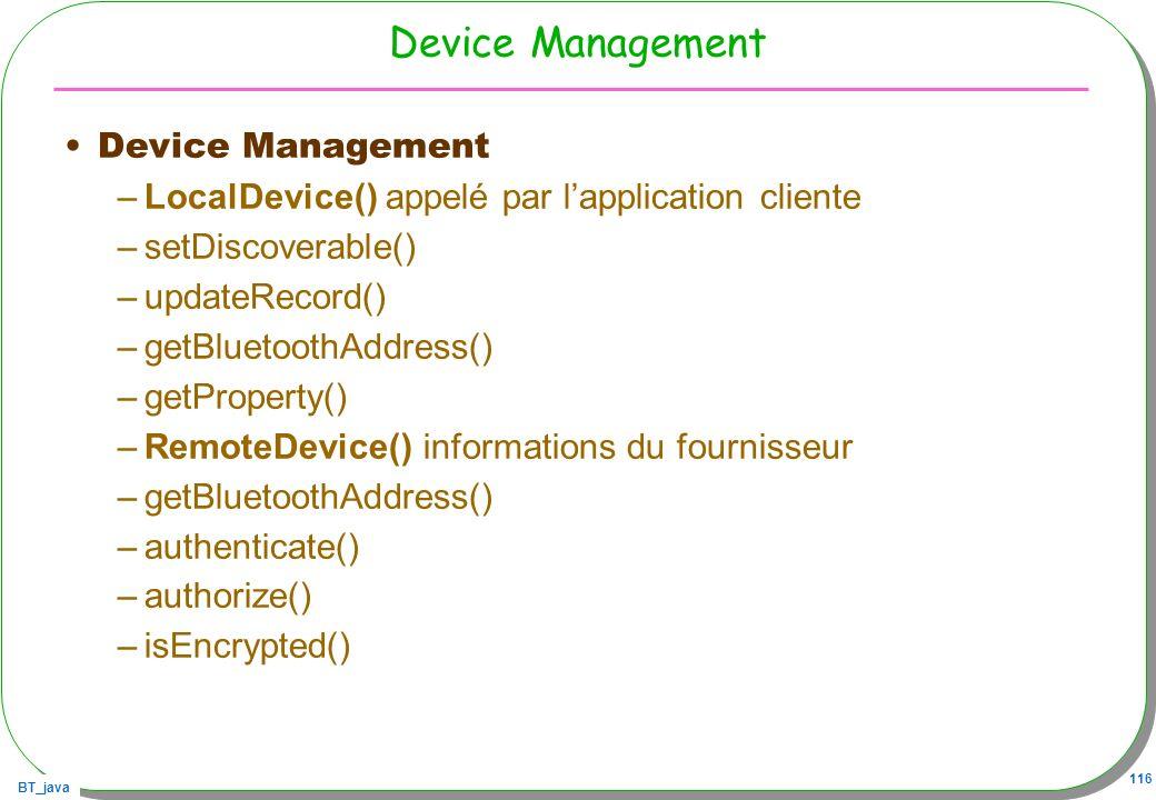 Device Management Device Management