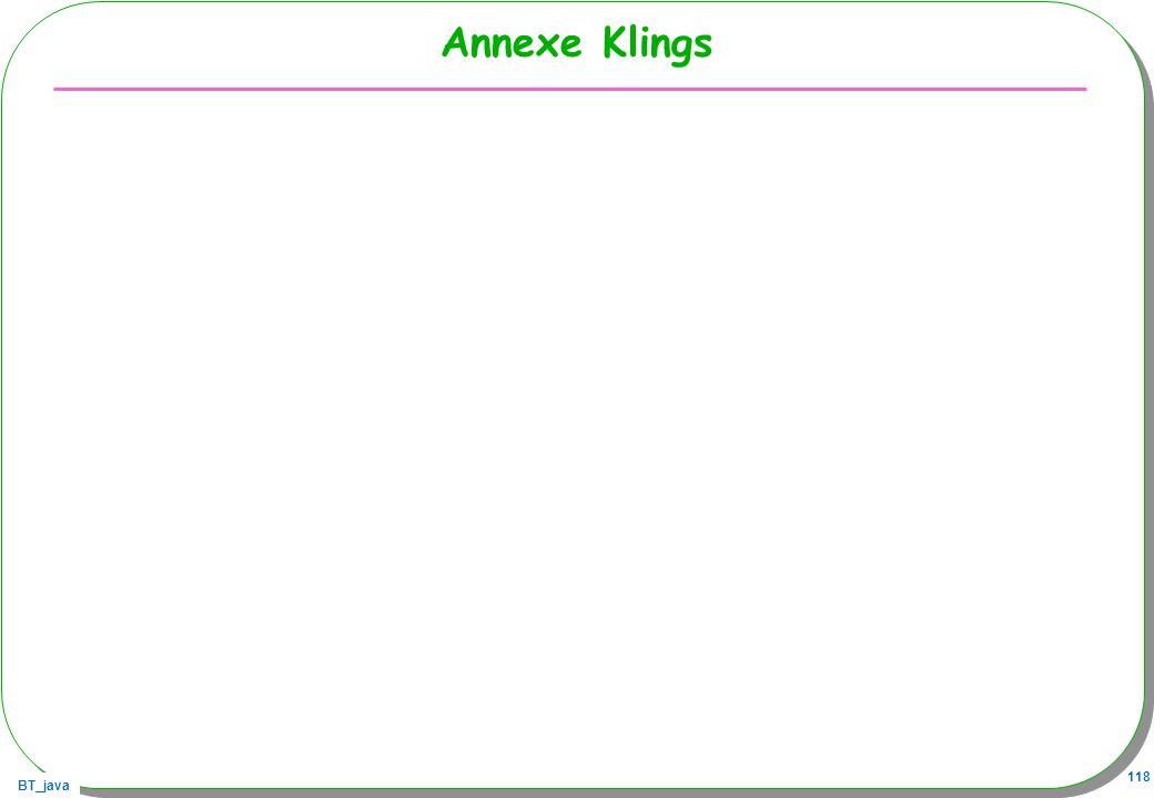 Annexe Klings