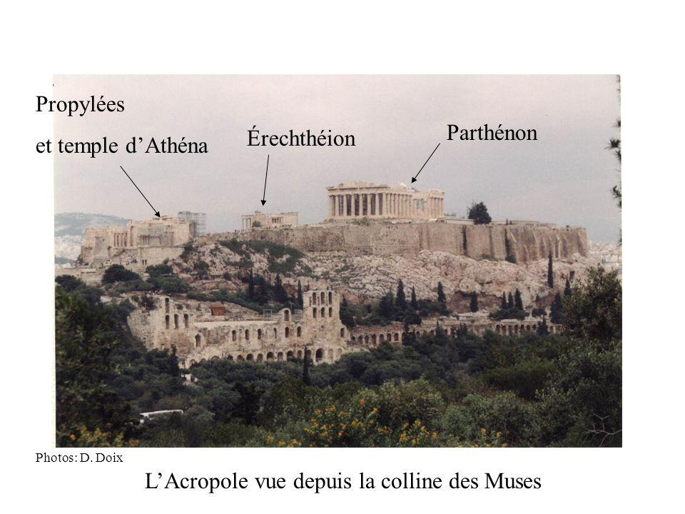 L'Acropole vue depuis la colline des Muses