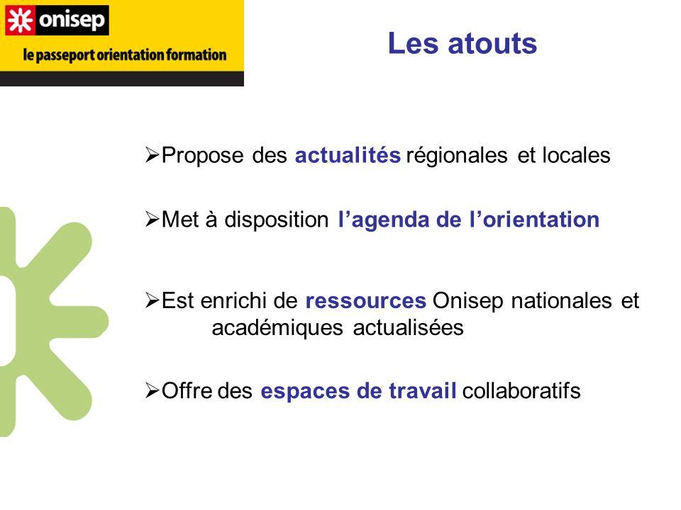 Les atouts Propose des actualités régionales et locales