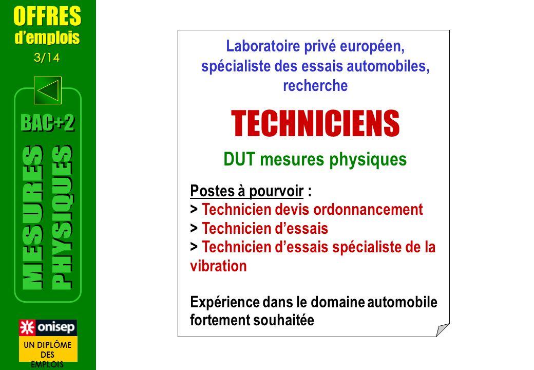 Laboratoire privé européen, spécialiste des essais automobiles,