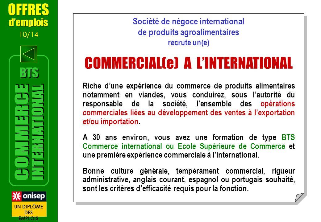Société de négoce international de produits agroalimentaires