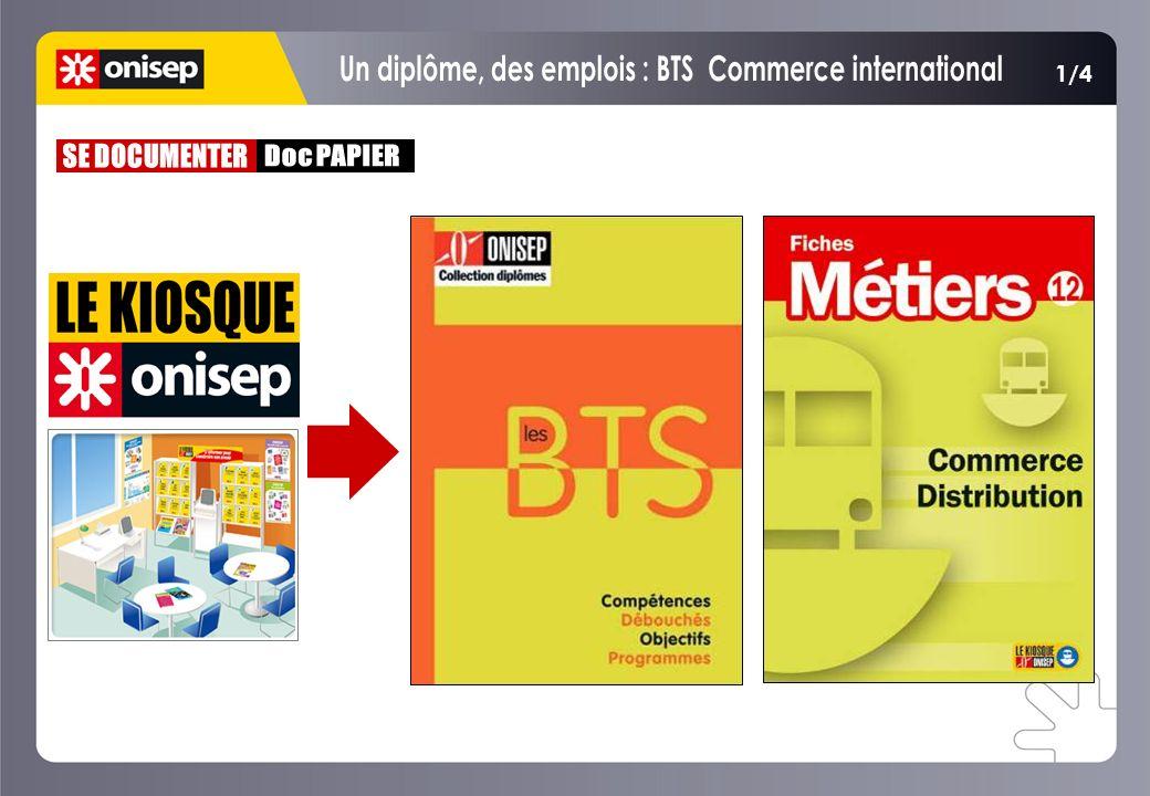 Un diplôme, des emplois : BTS Commerce international