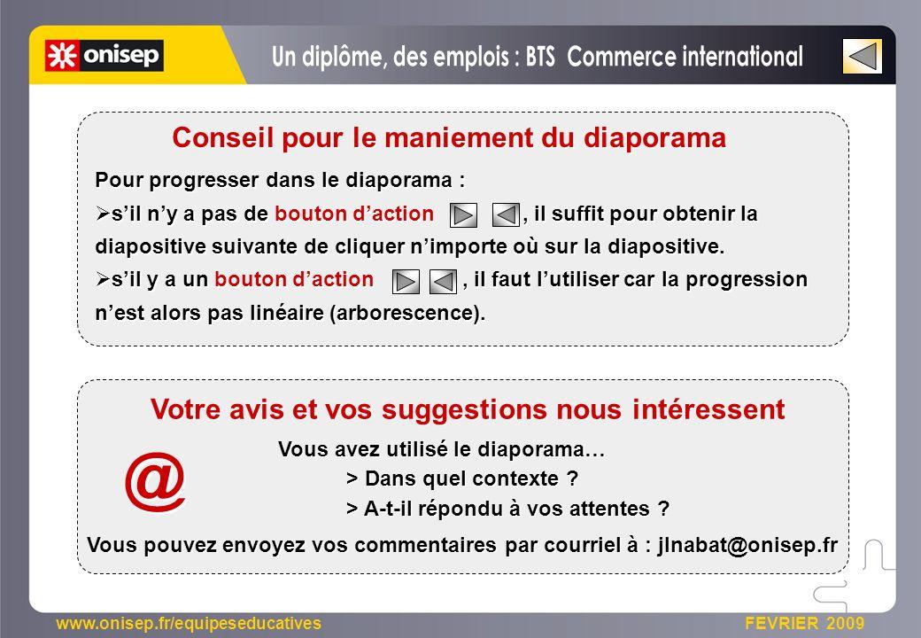 @ Un diplôme, des emplois : BTS Commerce international