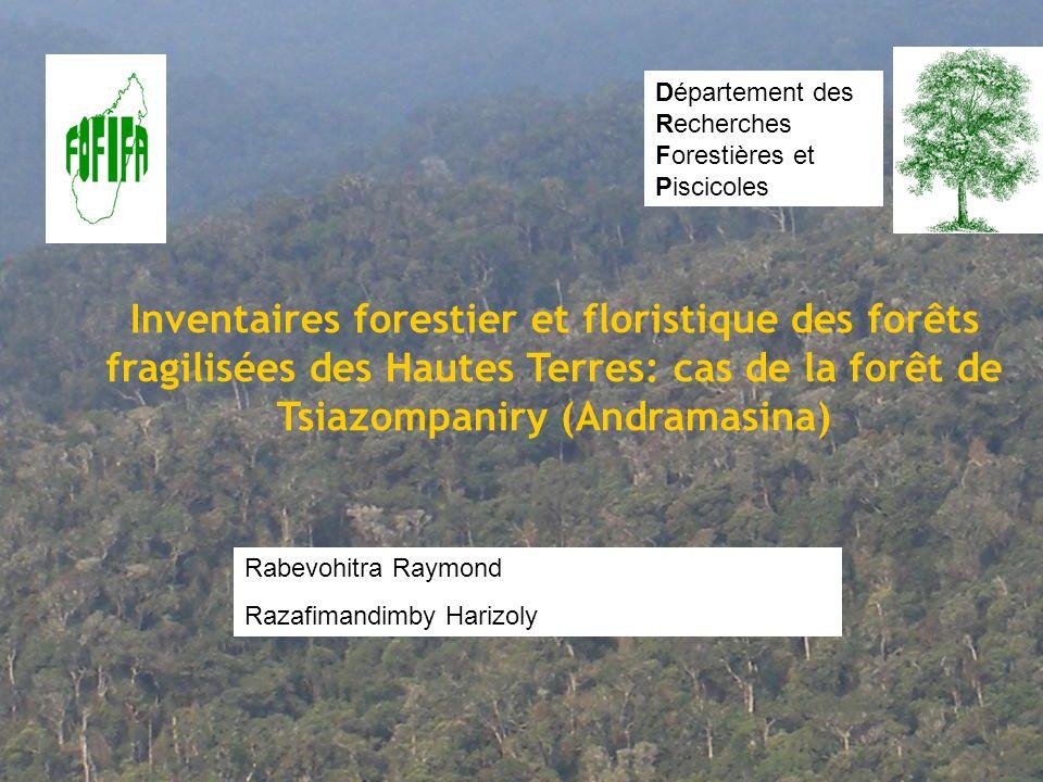 Département des Recherches Forestières et Piscicoles