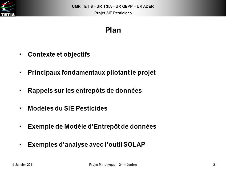 Projet Miriphyque – 2ière réunion