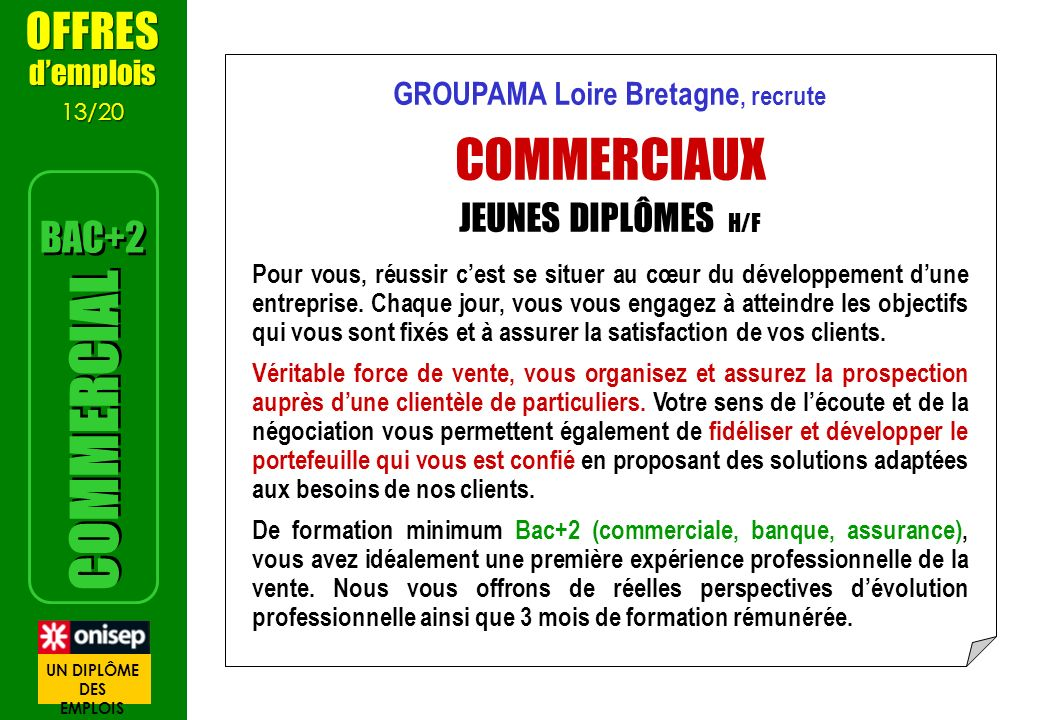 GROUPAMA Loire Bretagne, recrute