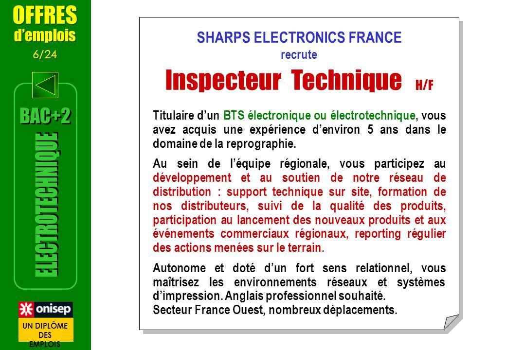 SHARPS ELECTRONICS FRANCE