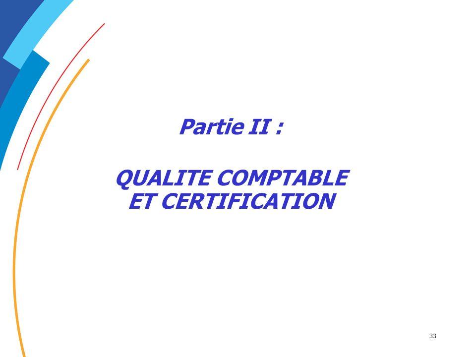 QUALITE COMPTABLE ET CERTIFICATION