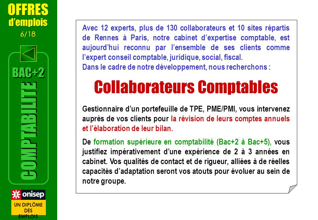 Collaborateurs Comptables