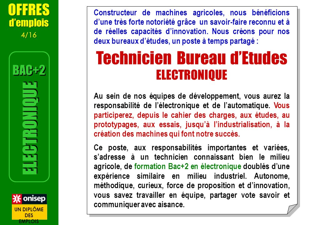 Technicien Bureau d'Etudes