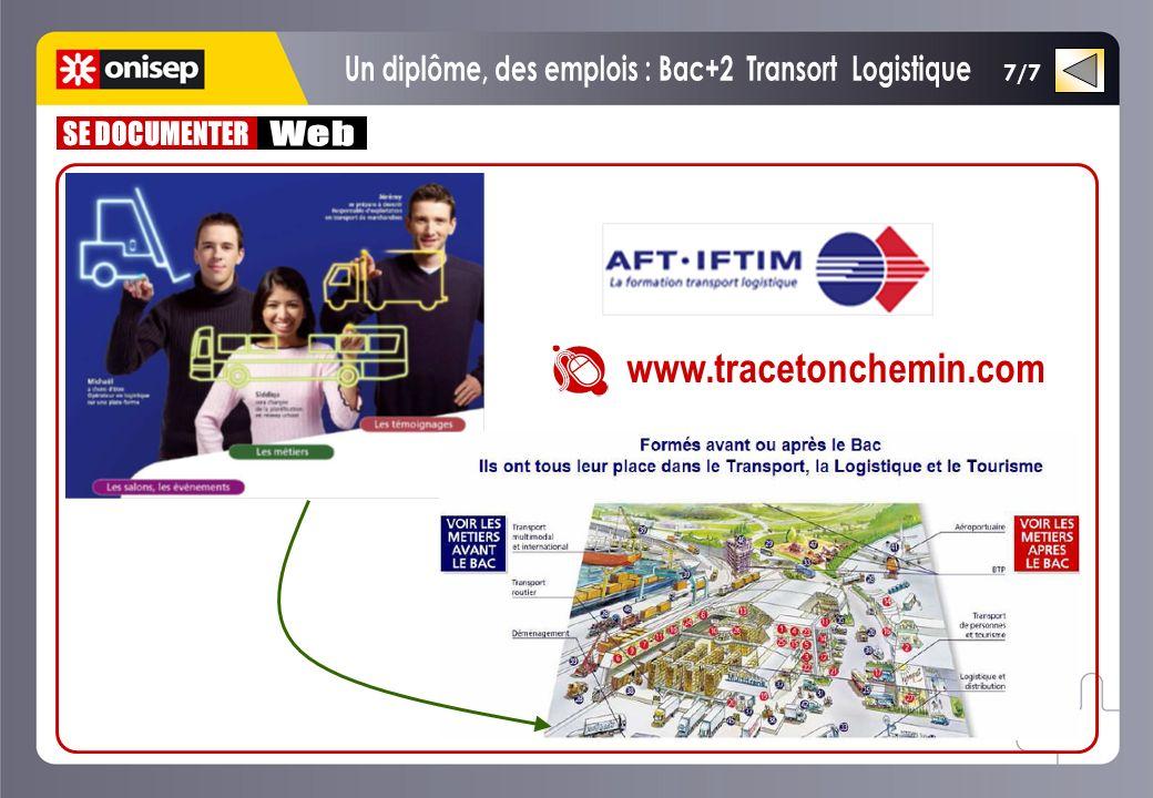 Un diplôme, des emplois : Bac+2 Transort Logistique