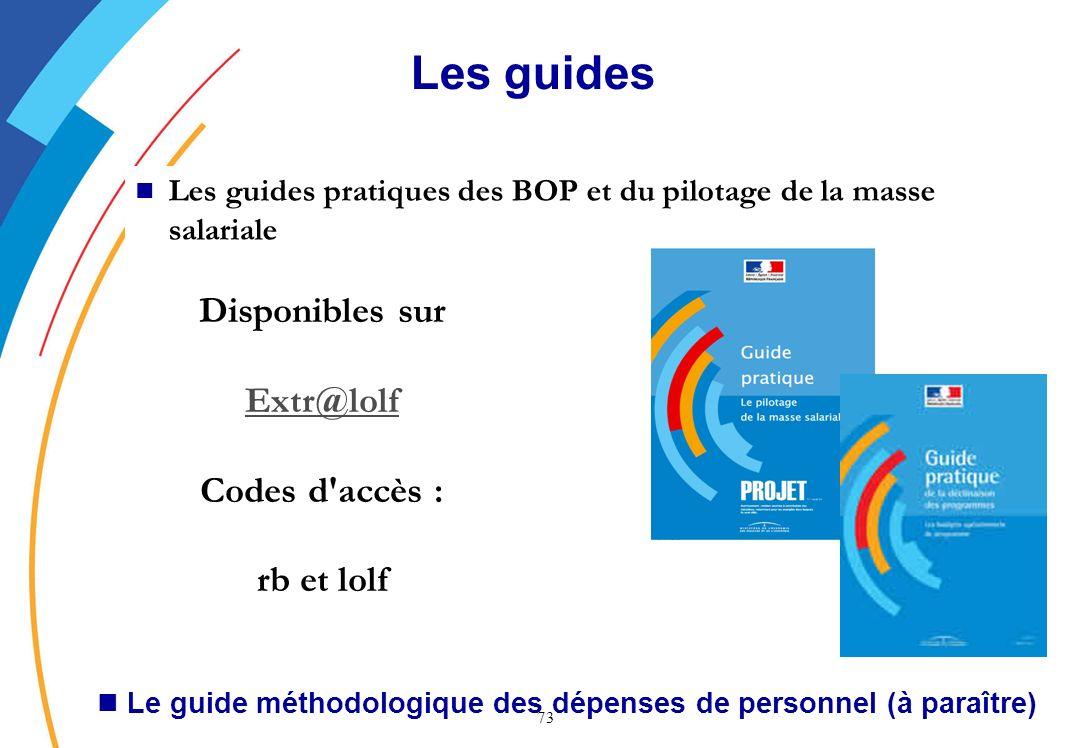 Le guide méthodologique des dépenses de personnel (à paraître)