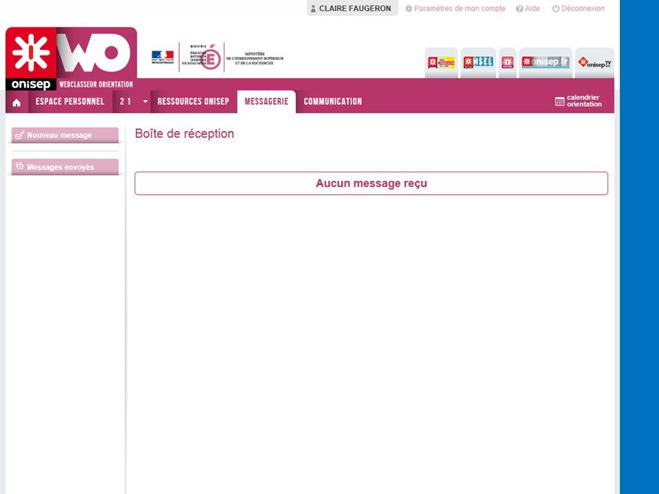MessagerieOn peut envoyer des messages en interne sur le Webclasseur : Professionnels > Classes, groupes.