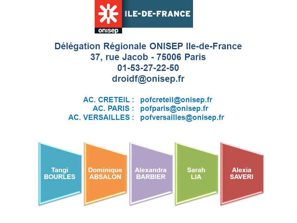Délégation Régionale ONISEP Ile-de-France