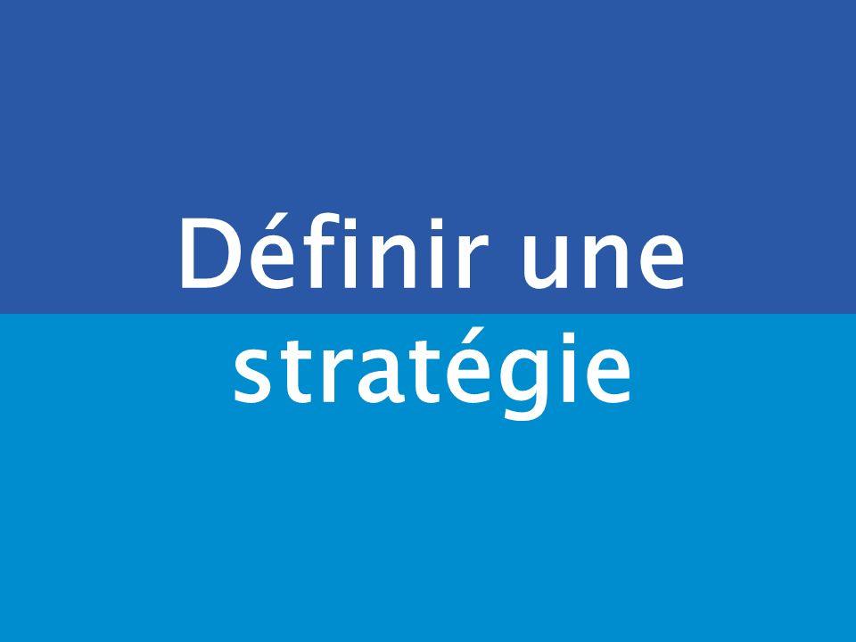 Définir une stratégie