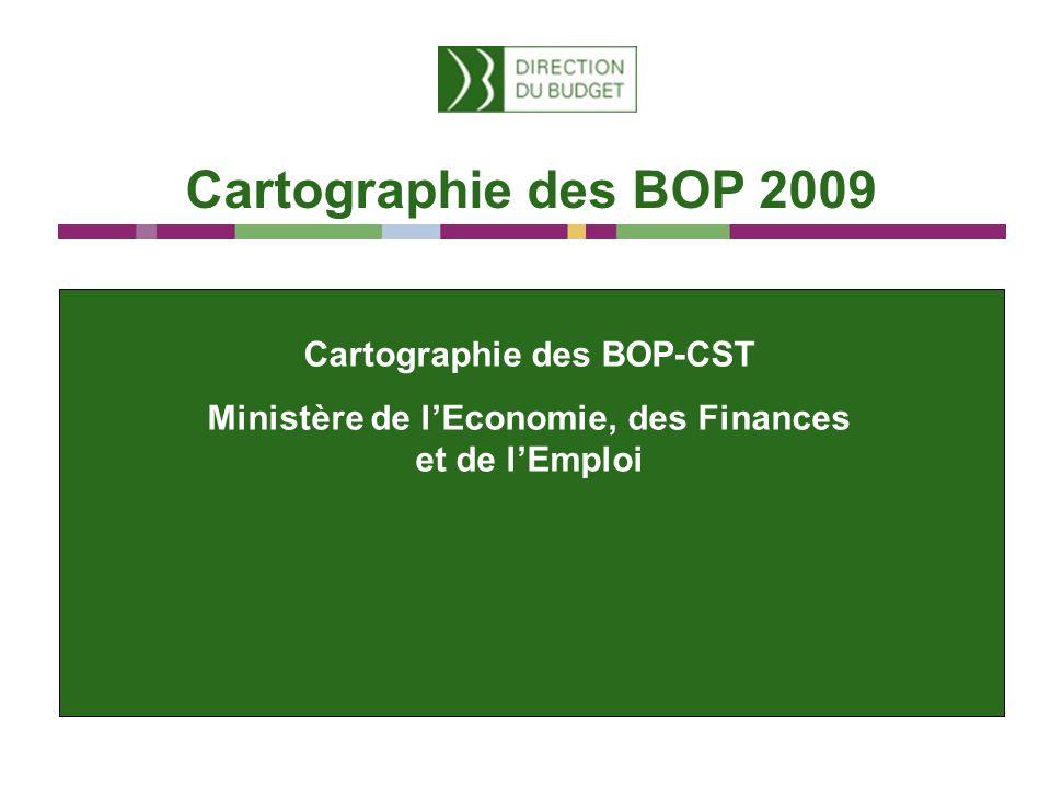 Cartographie des BOP-CST