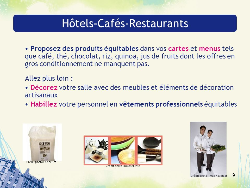 Hôtels-Cafés-Restaurants