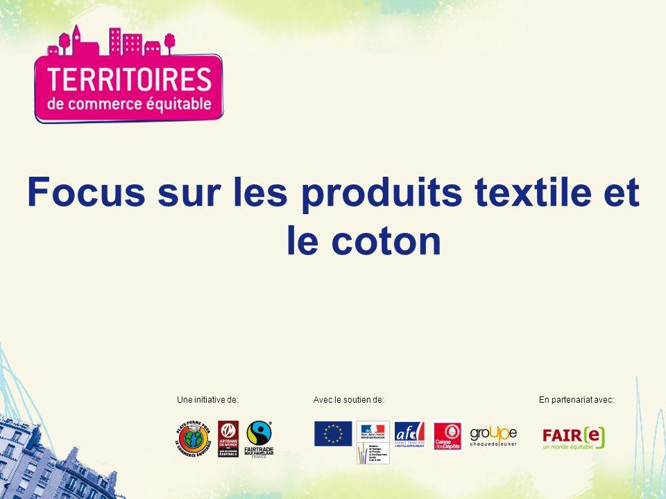 Focus sur les produits textile et le coton