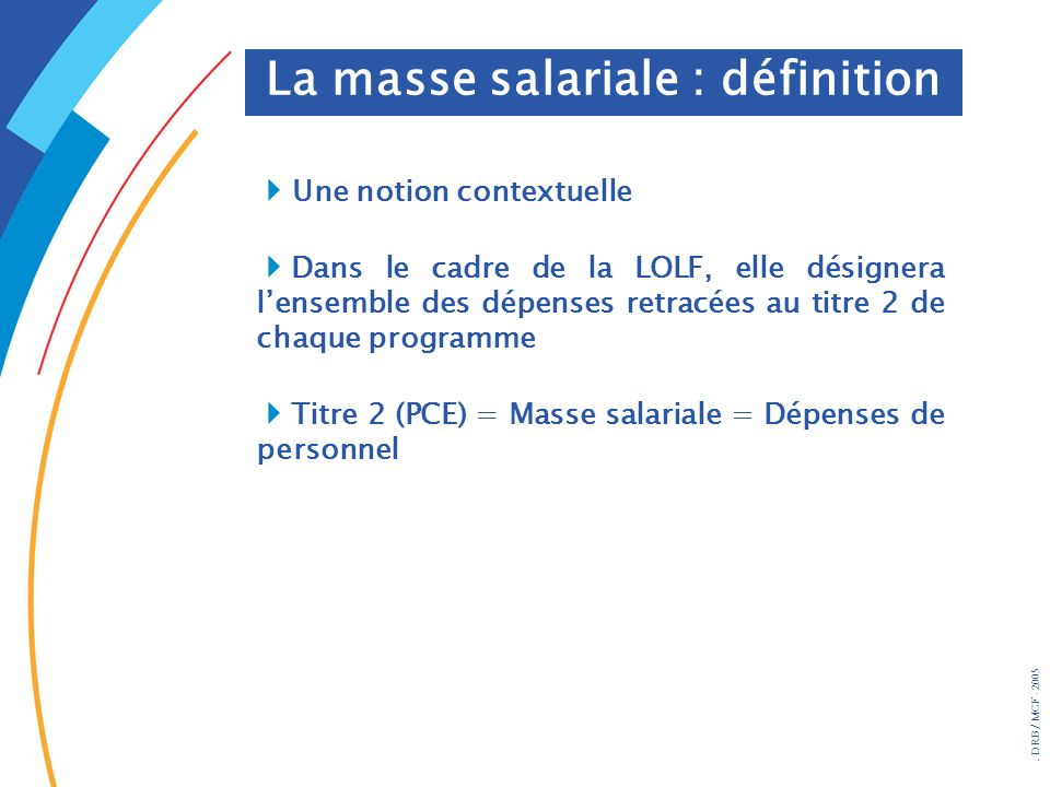 La masse salariale : définition