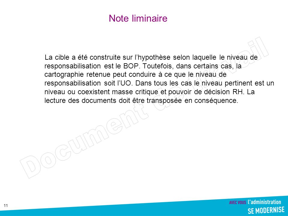 Note liminaire