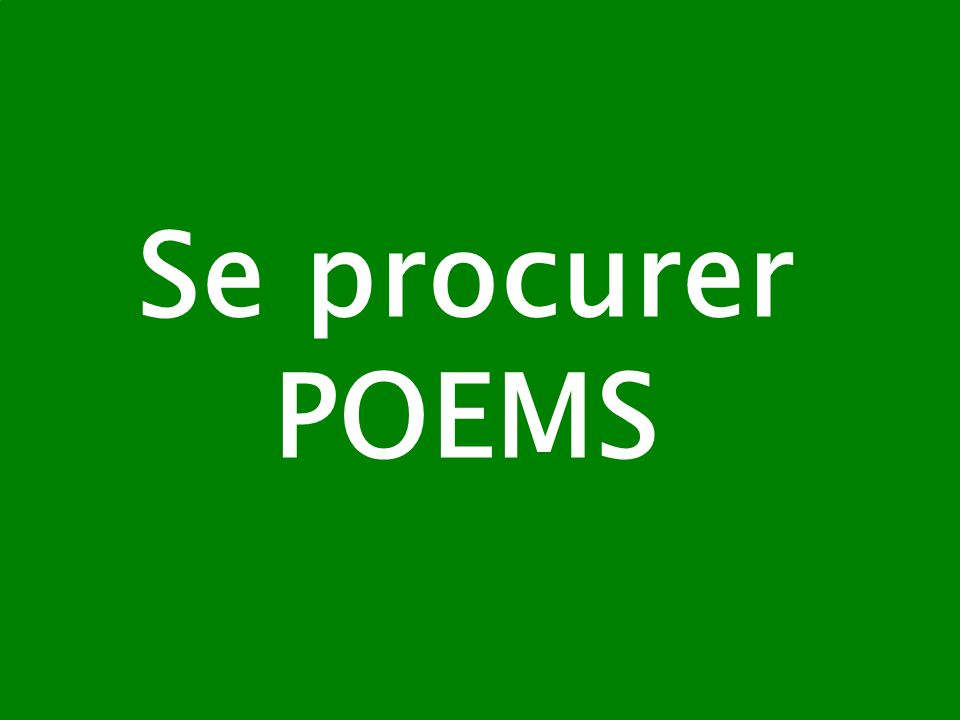 Se procurer POEMS